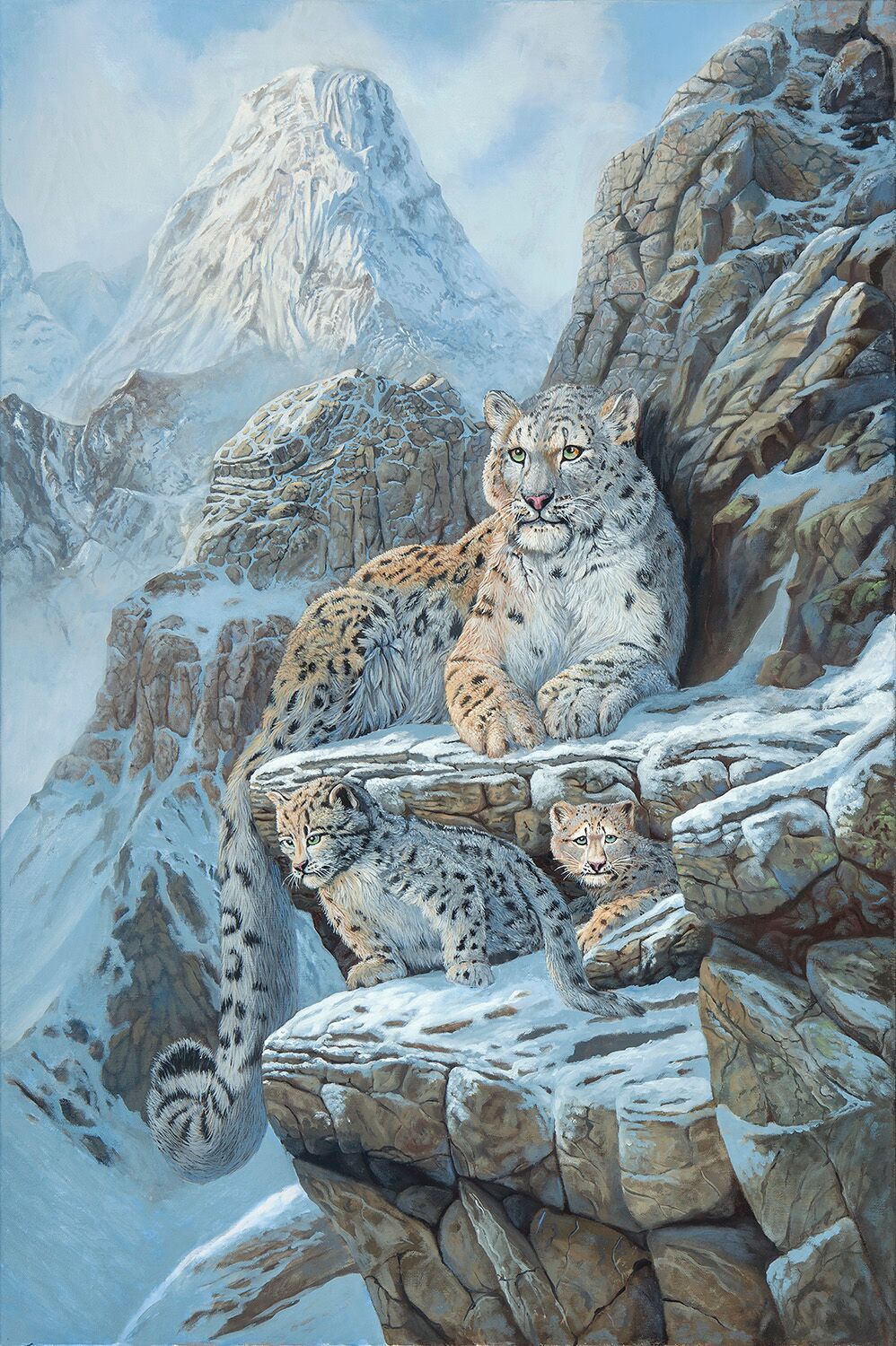Snow Leopard (Oil)